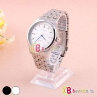 Stylish Stainless Automatic Mechanical Analogue Mens Steel Watch Best Gift #12
