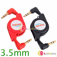 3.5mm Male to Male Retractable Audio Extension Cable