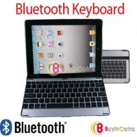 Aluminum Bluetooth Keyboard Dock Case for Samsung Galaxy Tab10.1 P7500 P7510 New 1