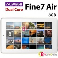"7"" AllFine Fine7 Air RK3066 Dual Core 1.6GHz Android 4.1 Tablet PC 8GB WIFI IPS"