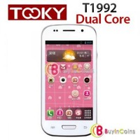 "4"" TOOKY T1992 Android 4.1 Dual Core 1GHz Smartphone WIFI GSM Mobile Phone"