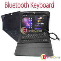 Bluetooth Keyboard PU Leather Case Cover Stand for Samsung Galaxy Tab 10.1 P7510 1
