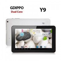 """9"""" GD IPPO Y9 Android 4.2 Dual Core VIA8880 Cameras RAM 512MB Wifi Tablet PC 8GB"""