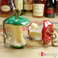 Cute Jewelry Europe Childlike Apple Vintage Necklace Sweater Chain Pendant
