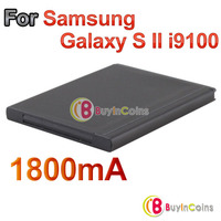 1800mAh 3.7V Replacement Rechargeable Battery for Samsung Galaxy S II i9100
