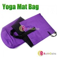 Nylon Yoga Pilates Mat Bag Carrier Strap Sling Buckle