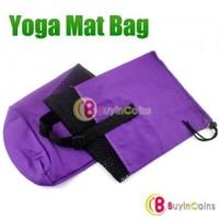 Nylon Yoga Pilates Mat Bag Carrier Strap Sling Buckle