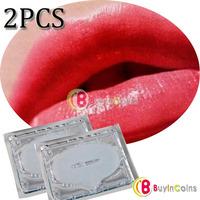 2 Pcs Collagen Crystal Lip Mask Membrane Moisture New