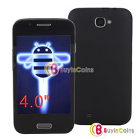"4.0"" Touch Screen Android 4.0 MTK6515 Smartphone 512MB WIFI Mobile Phone"
