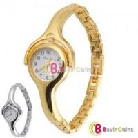 Fashion Chain Bracelet Bird Beak Ladies Wrist Watch Gift Gold and Silver #47
