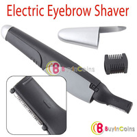 LED Light Personal Hair Electric Eyebrow Blade Trimmer Shaver Razor Remover 1