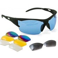 Bicycle Bike Sport Cycling Safety Glasses Goggle 5 Lens 2