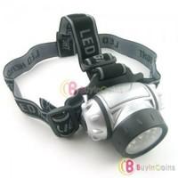 21 LED 4 Mode Headlamp Waterproof Camping Flashlight Headlight