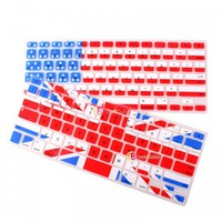 """Flag Design Silicone Keyboard Skin Cover Film For Apple Macbook Pro 13.3"""" 15.4"""" 1"""