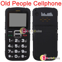 Old People Mobile Cell Phone SOS Button FM Radio Camera Dual Card Dual Standby