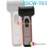 Rechargeable Electric Dual Cutter Acute Foil Push-off Trimmer Shaver RSCW-T01