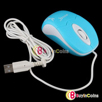 Carved USB 3D Optical Wheel Mouse Mice for PC Laptop #3