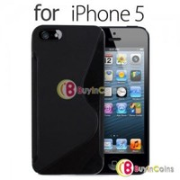 New Stylish TPU Silicone S Case Skin Cover for Apple iPhone 5 5th Gen 5G Five #1