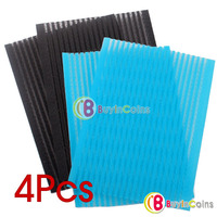 4 PCS Ornament Magic Tape Fringe Hair Bang Patch Stick