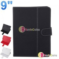 Universal 9 Inch PU Leather Smart Case Cover Stand Colorful for Tablet PC Mid