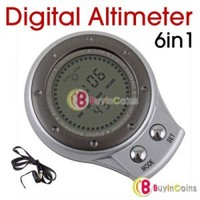 6 in 1 Digital Altimeter Barometer Thermometer Compass 1