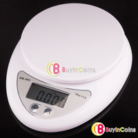 5kg 5000g/1g Digital Kitchen Food Diet Postal Scale