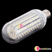 New 120 LED Corn Light 8W E27 LED SMD Bulb White Lamp