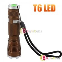 Bright Adjustable Focus CREE T6 LED Light Lamp Torch Camping Flashlight #14