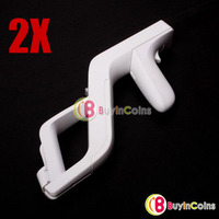 2x Zapper Gun for Nintendo Wii Remote Controller Game