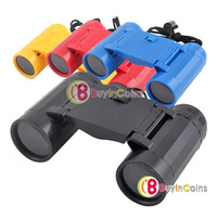 Folding 4X30 Child Children Binoculars Telescope Toy #3