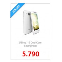 "4.5"" UTime i15 Android 4.2 MTK6572 Dual Core 1.2GHz 3G Wifi Smartphone Unlocked"