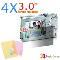 4x 3.0 inch Screen Protector for Digital Camera Screen