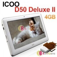 "7"" ICOO D50 Deluxe Version II Android 4.0 All Winner A13 Tablet PC 4GB 512MB RAM"