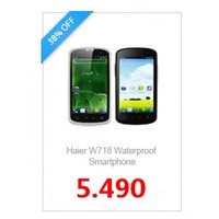 "4"" Haier W718 Waterproof Dustproof IP67 Dual SIM 3G Smartphone GPS Wifi Unlocked"