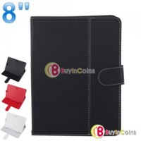 Universal 8 Inch PU Leather Smart Case Cover Stand Colorful for Tablet PC Mid