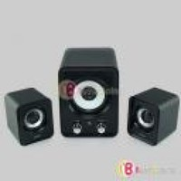 HISN 2.1 USB Subwoofer Mini Audio Computer MP3 Phone Speaker USB Power HS-U 1