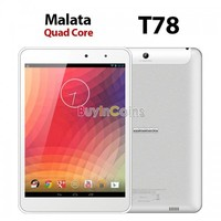 """7.85"""" Malata T78 Android 4.2 RK3188 Quad Core 1.8GHz Tablet PC IPS Cameras 1G 8G"""