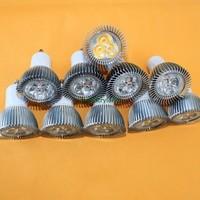 10xHigh Efficiency GU10 500Lumen 6W LED Bulbs Light Warm White AC220V