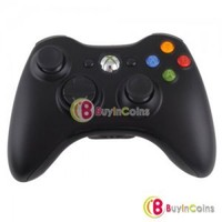 New Wireless Remote Game Controller Handle for Microsoft Xbox 360 Xbox360 Black