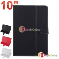 Universal 10 Inch PU Leather Smart Case Cover Stand Colorful for Tablet PC Mid