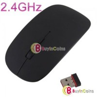 2.4GHz USB Wireless Scroll Wheel Optical Mouse Mice for Laptop PC