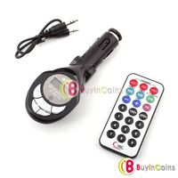 Car Kit MP3 Player Foldable FM Transmitter for SD/MMC/USB/CD 02