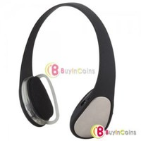 Universal Handsfree Earphone Wireless Bluetooth Stereo Headset Headphone New