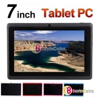"""7"""" Android 4.0 All Winner A13 1.2GHz Tablet PC 4GB 512MB RAM WIFI Capacitive"""