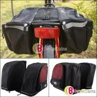 New Outdoor Waterproof Cycling Bicycle Bag Bike Big Rear Seat Tail Bag Pannier 1