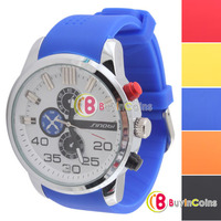 Unisex Analog Waterproof Stainless Steel Back Plate Wristwatch Best GIft #9 1