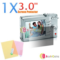 1x 3.0 inch Screen Protector for Digital Camera Screen