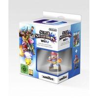 Super Smash Bros with Amiibo mario Figure / Wii U