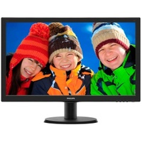 "Monitor 24"" Philips LED 243V5LHAB Slim V-Line"