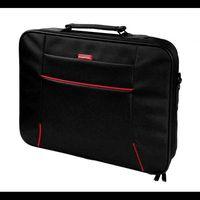 "Bag Notebook Hantol up to 17"", Black-Red"